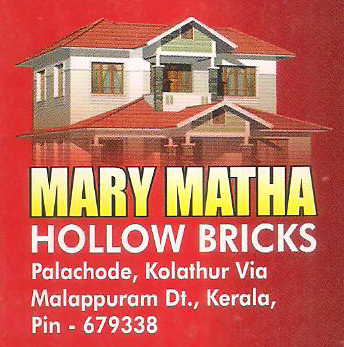 Mary Matha Hollow Bricks