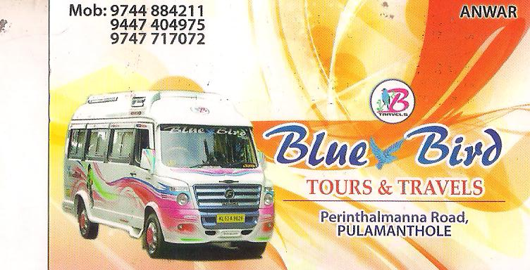 BLUE BIRD TOURS AND TRAVELS