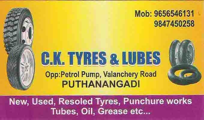 c k tyres & lubes