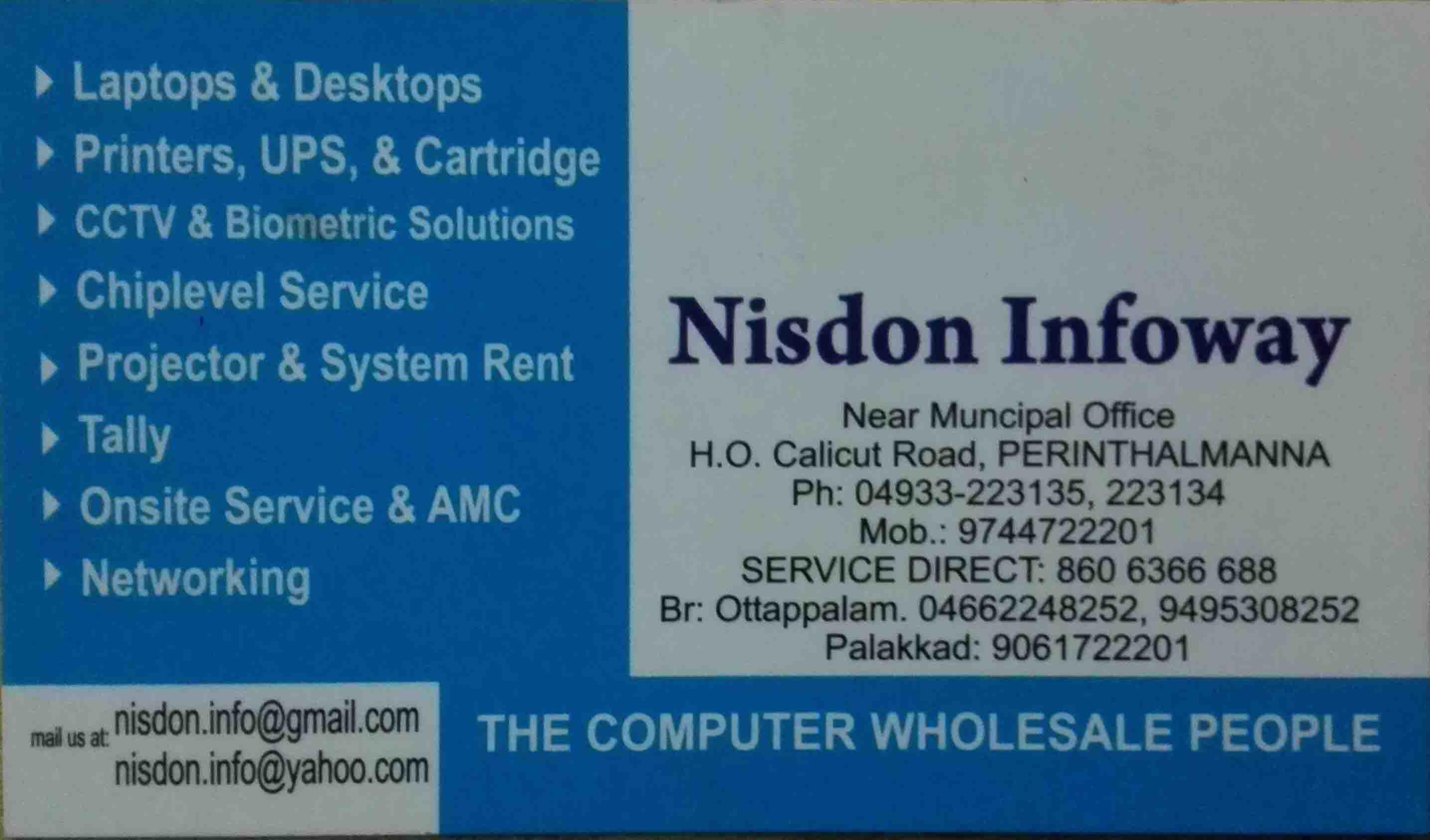 Nisdon Infoway
