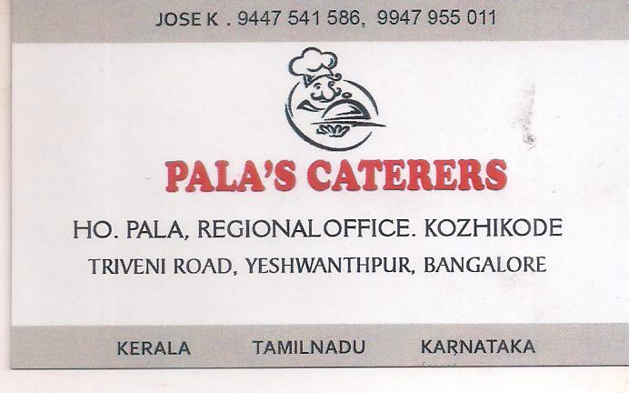 PALA'S CATERING SERVICE