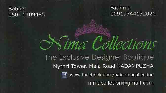 Nima Collections
