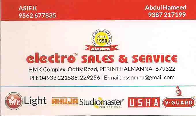 electro sales & service