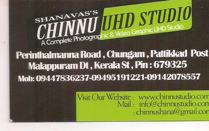 CHINNU UHD STUDIO