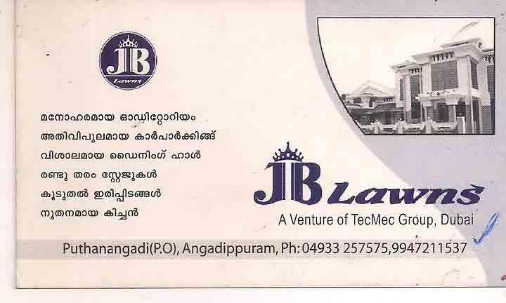 J B LAWNS